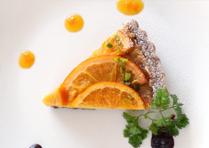 オレンジと柑橘のタルト