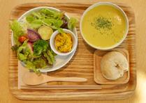 日替わりスープとデリのセット
