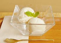 豆乳バニラアイス