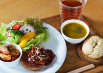【10th Special Menu】ひよこ豆とジャガイモのベジハンバーグ
