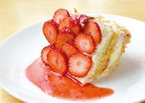 いちごと桜のソイクリームショートケーキ_1803