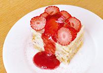 桜といちごのソイクリームショートケーキ_1904
